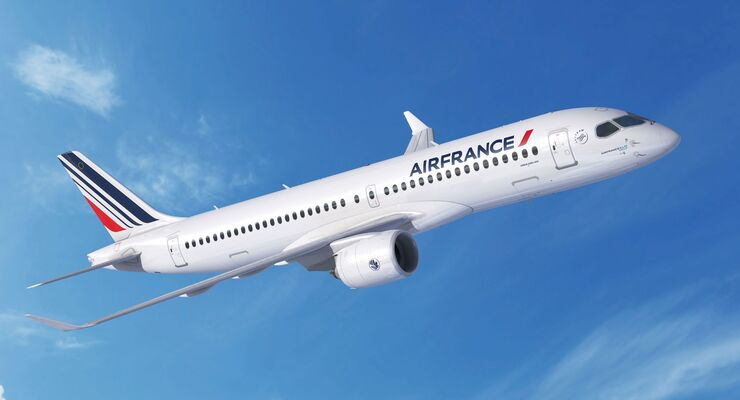 Airbus A220-300 für Air France.