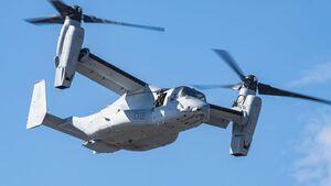 Bell Boeing MV-22 Osprey des US Marine Corps.