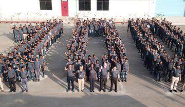 C-130J - Feier 100. Leitwerk von Tata in Indien