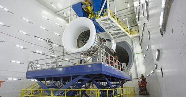 Delta eröffnet im Februar 2019 den weltgrößten Triebwerksprüfstand.
