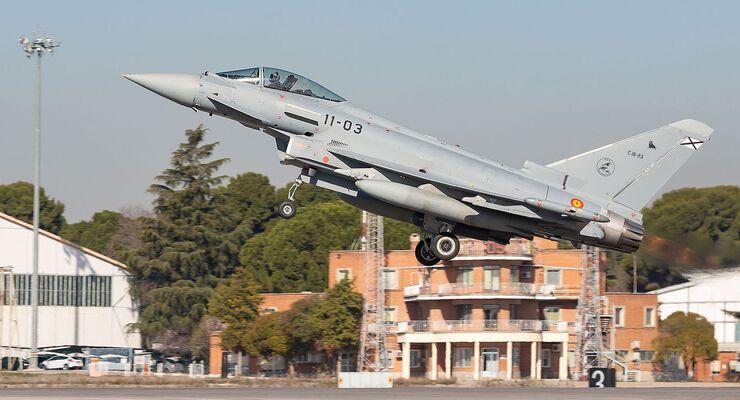 Eurofighter der Ejercito del Aire