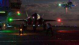 Fighter jets begin night flights on HMS Queen Elizabeth