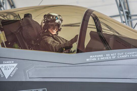First Female F-35B Pilot