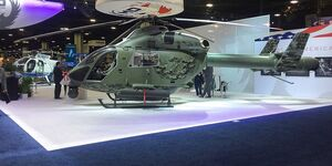 MD Helicopters MD 969 auf der Heli-Expo 2019.