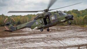 NH Industries NH90 des deutschen Heeres.