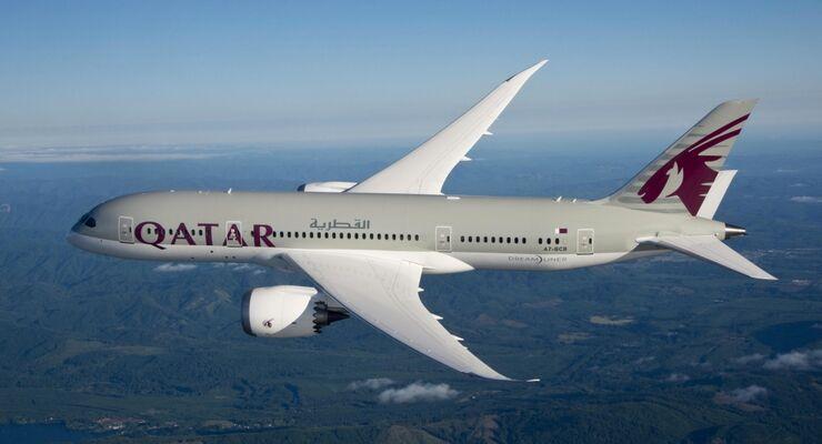 Qatar Airways Bedient Wien Mit Der Boeing 787 Flug Revue